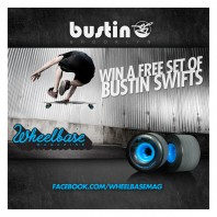 "Wheelbase Magazine's ""Swift"" Bustin Boards Facebook Giveaway: August 2012"