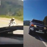 Video: Example of What NOT to Do While Driving Mountain Roads